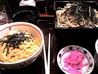 070309 玉子丼セット