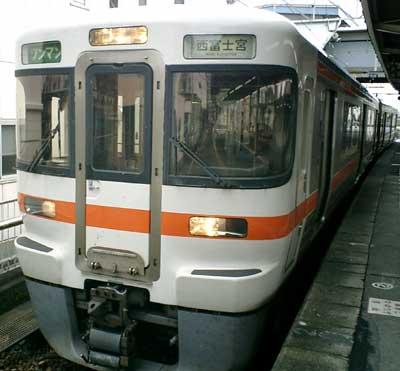 070916 見延線ワンマン車