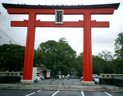 070916 富士山本宮浅間神社鳥居