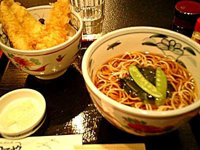 080119 そば+天丼
