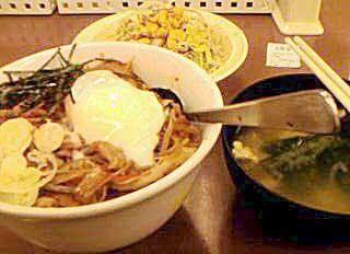 080123 ビビン丼(松屋)