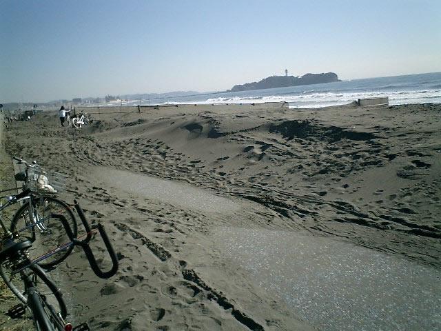041127江ノ島まで5kmほど